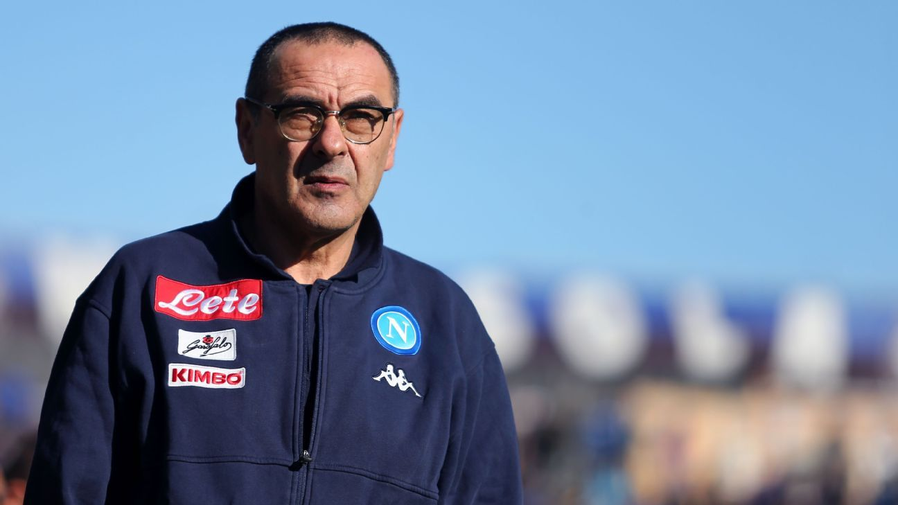 Maurizio Sarri's Napoli amassed 91 points in Serie A in 2017-18 but could not overhaul Juventus as champions.