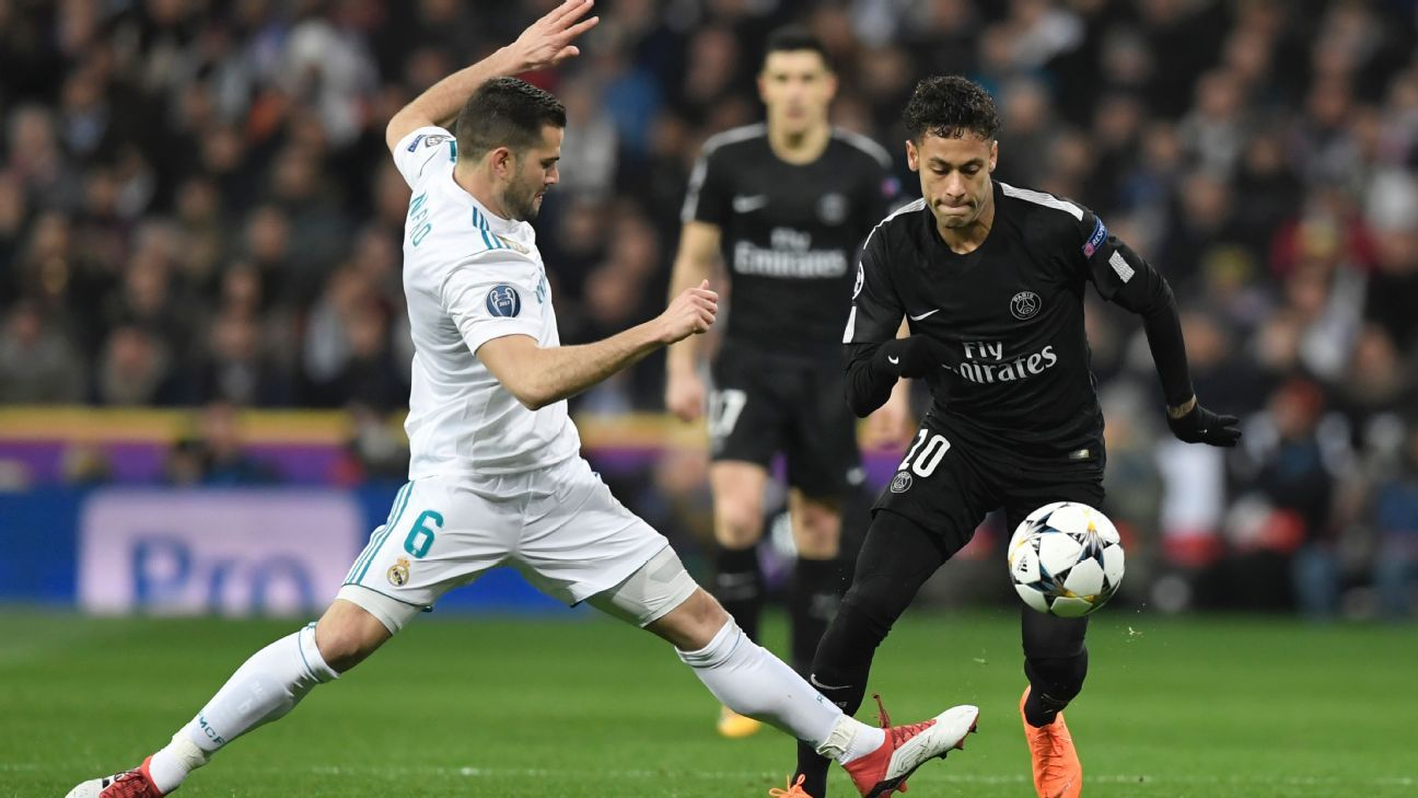 UCL draw: Real Madrid to face PSG in Group A