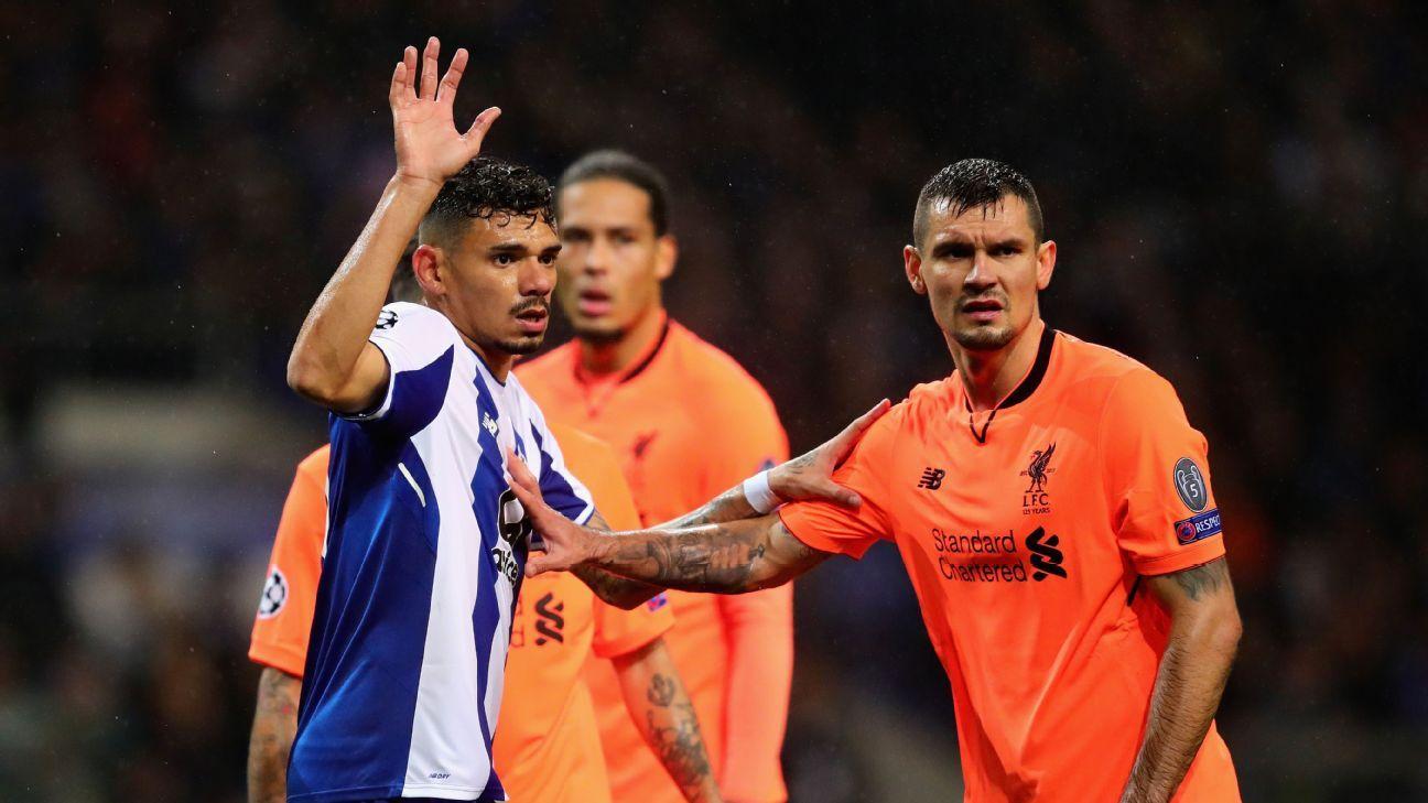 Dejan Lovren delivered an encouraging commanding and confident performance against Porto.