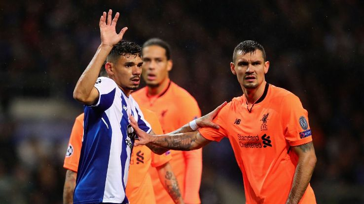 Dejan Lovren delivered an encouraging commanding and confident performance against Porto.