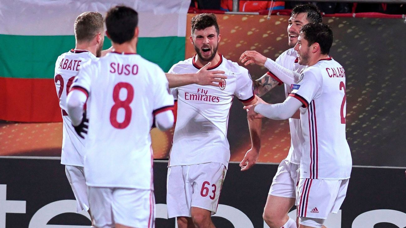 Patrick Cutrone just can't stop scoring, nabbing his fourth in four games.