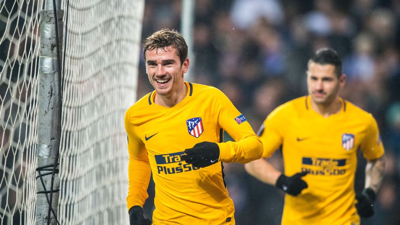 Antoine Griezmann was in a different class from everyone else on the pitch in Copenhagen.