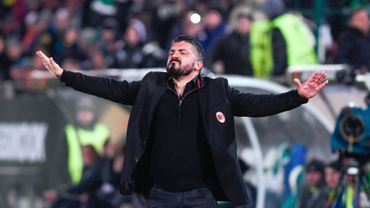 Gennaro Gattuso has helped turn AC Milan around since taking over.