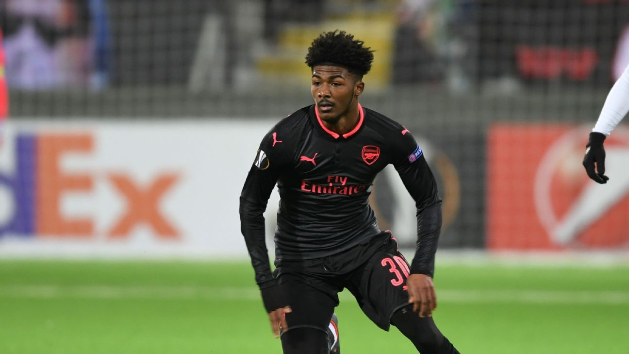 Youngster Ainsley Maitland-Niles has impressed in the Europa League this season.
