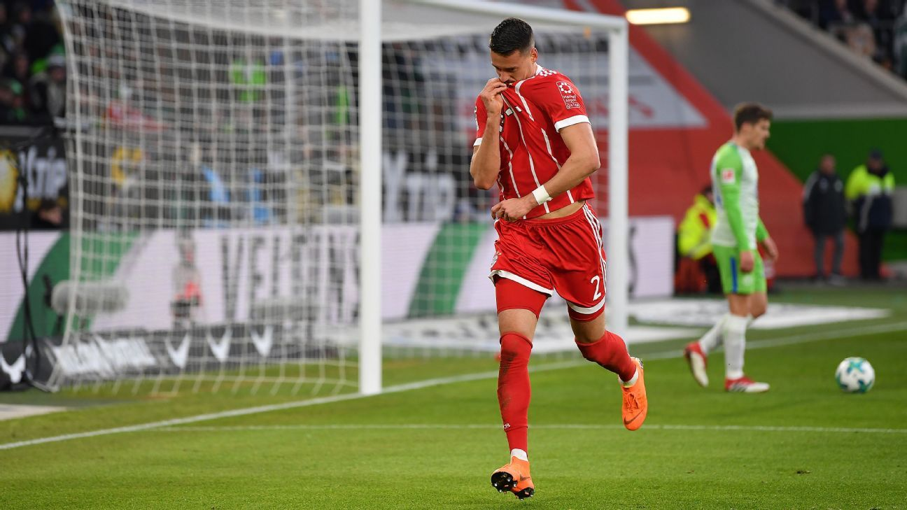 Sandro Wagner's goal vs. Wolfsburg was his second since returning to Bayern.