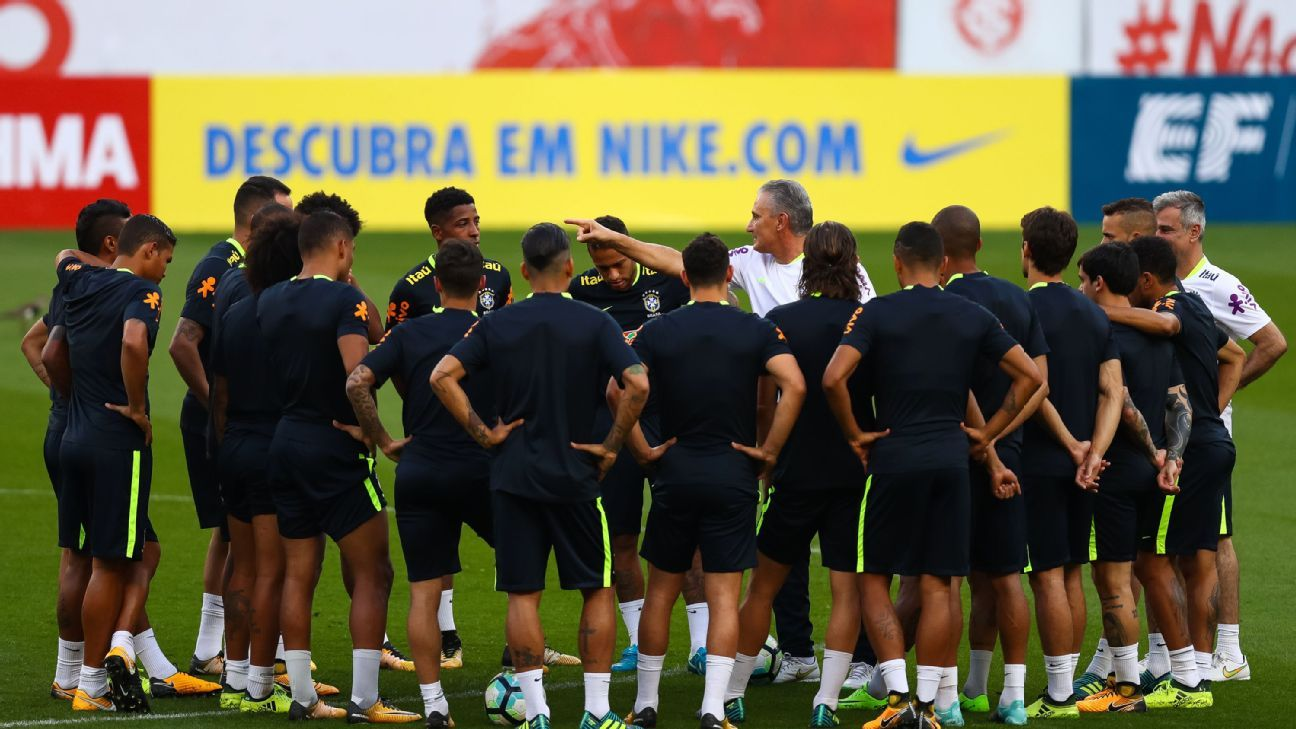 Just months ahead of the 2018 World Cup, Tite has tough decisions to make with his Brazil squad.