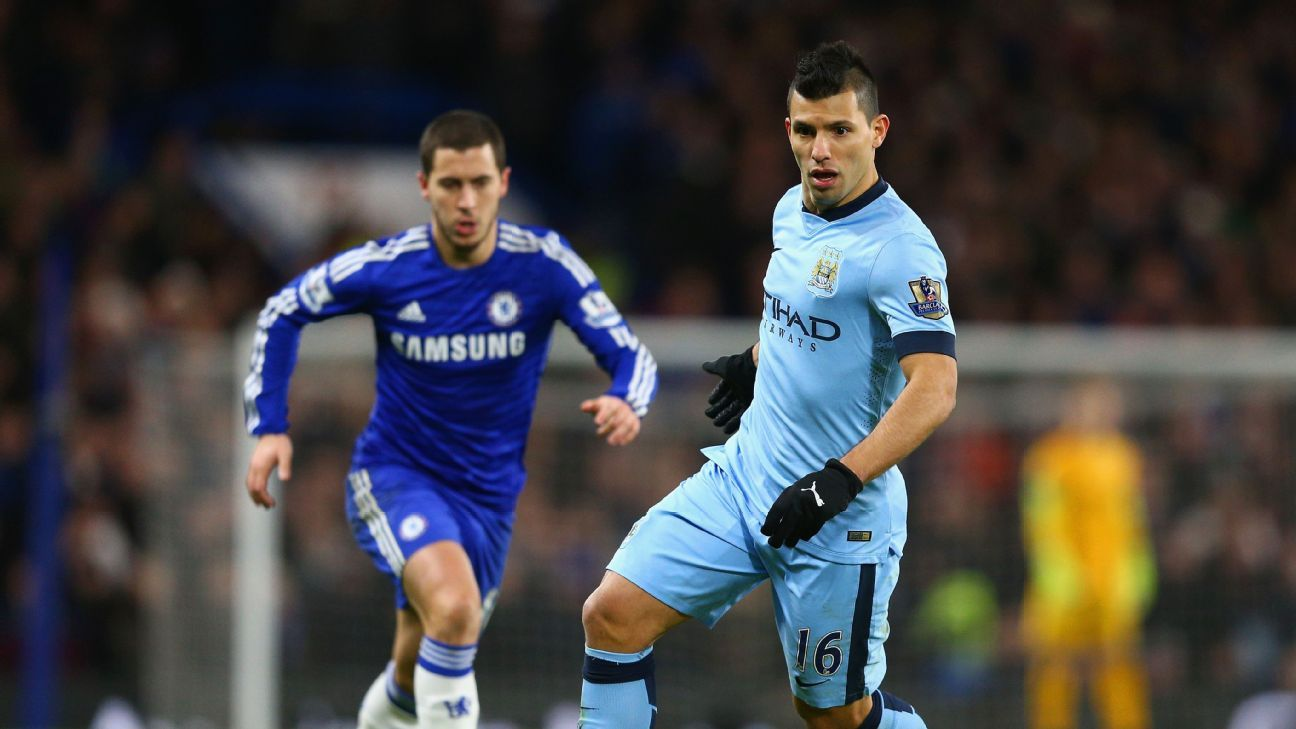 Eden Hazard & Sergio Aguero