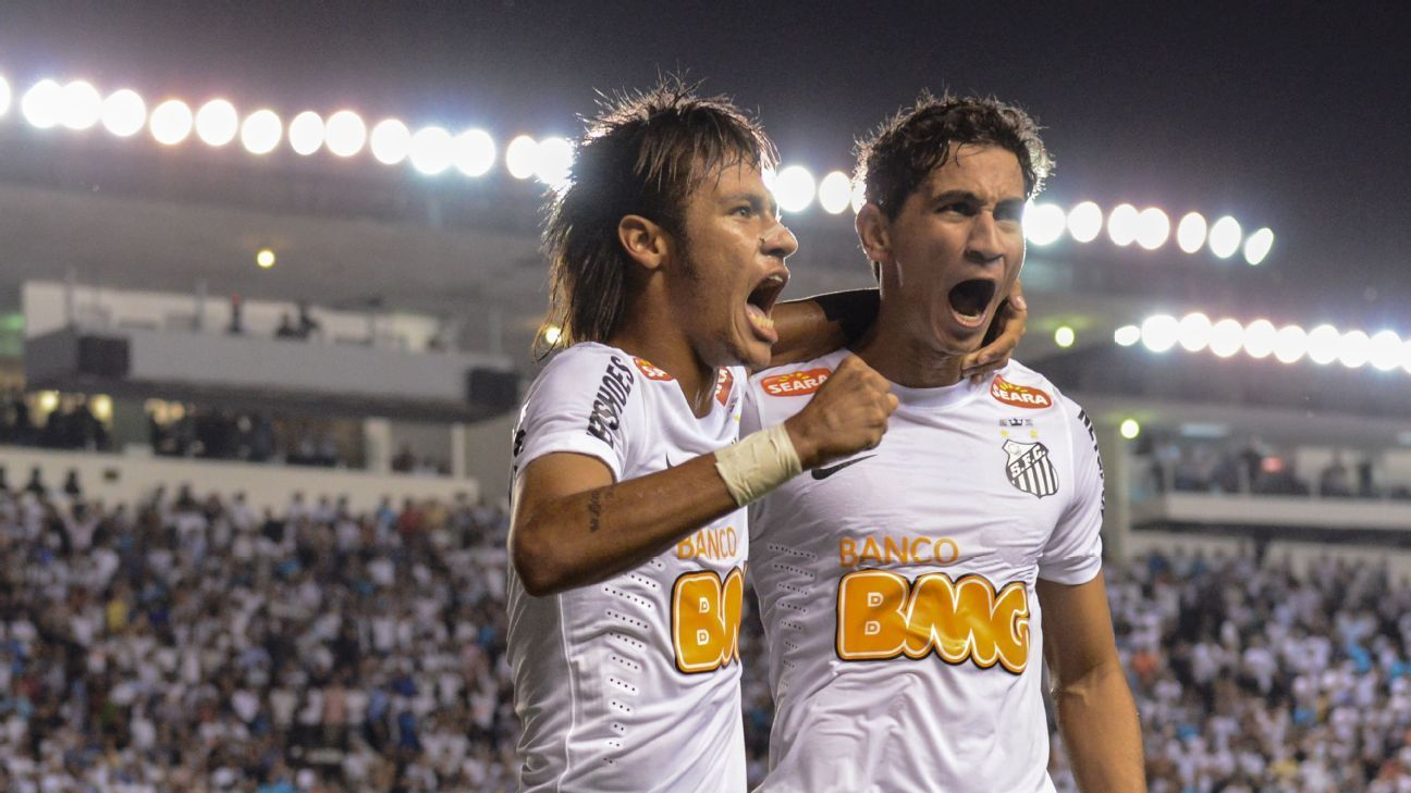 At one stage, Neymar and Ganso were on an equal level in terms of hype while at Santos.