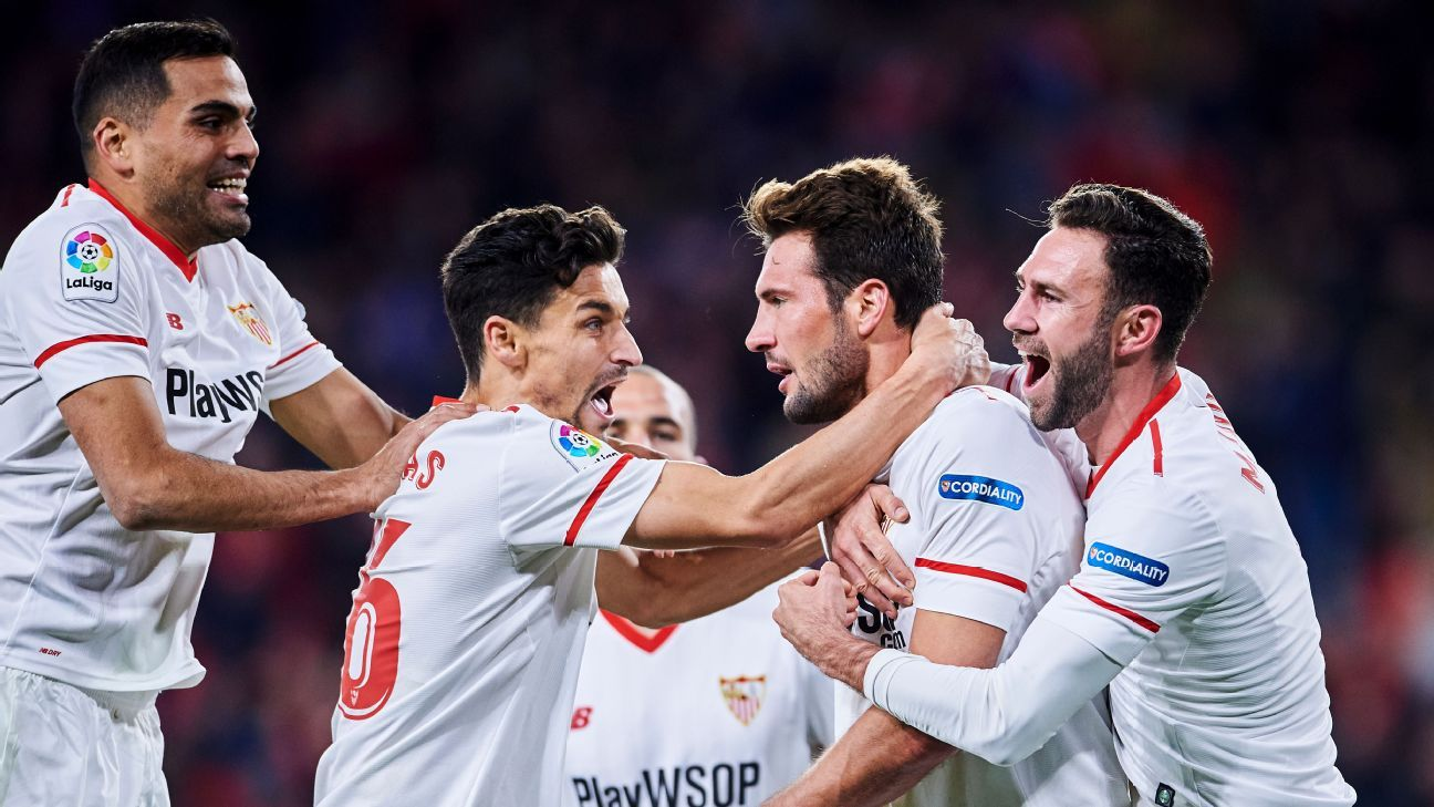 Sevilla advanced to the Copa del Rey final with a win over Leganes.