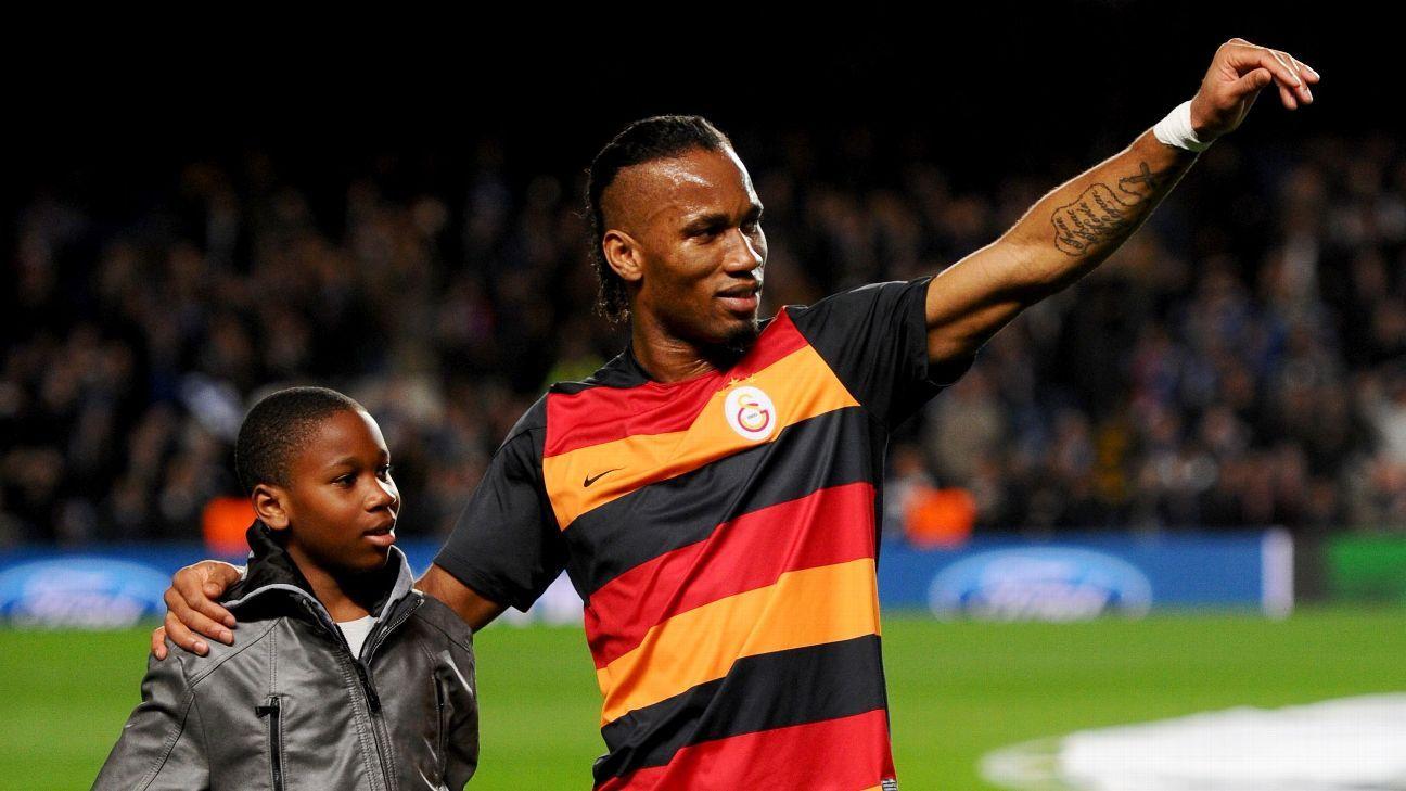 Isaac & Didier Drogba