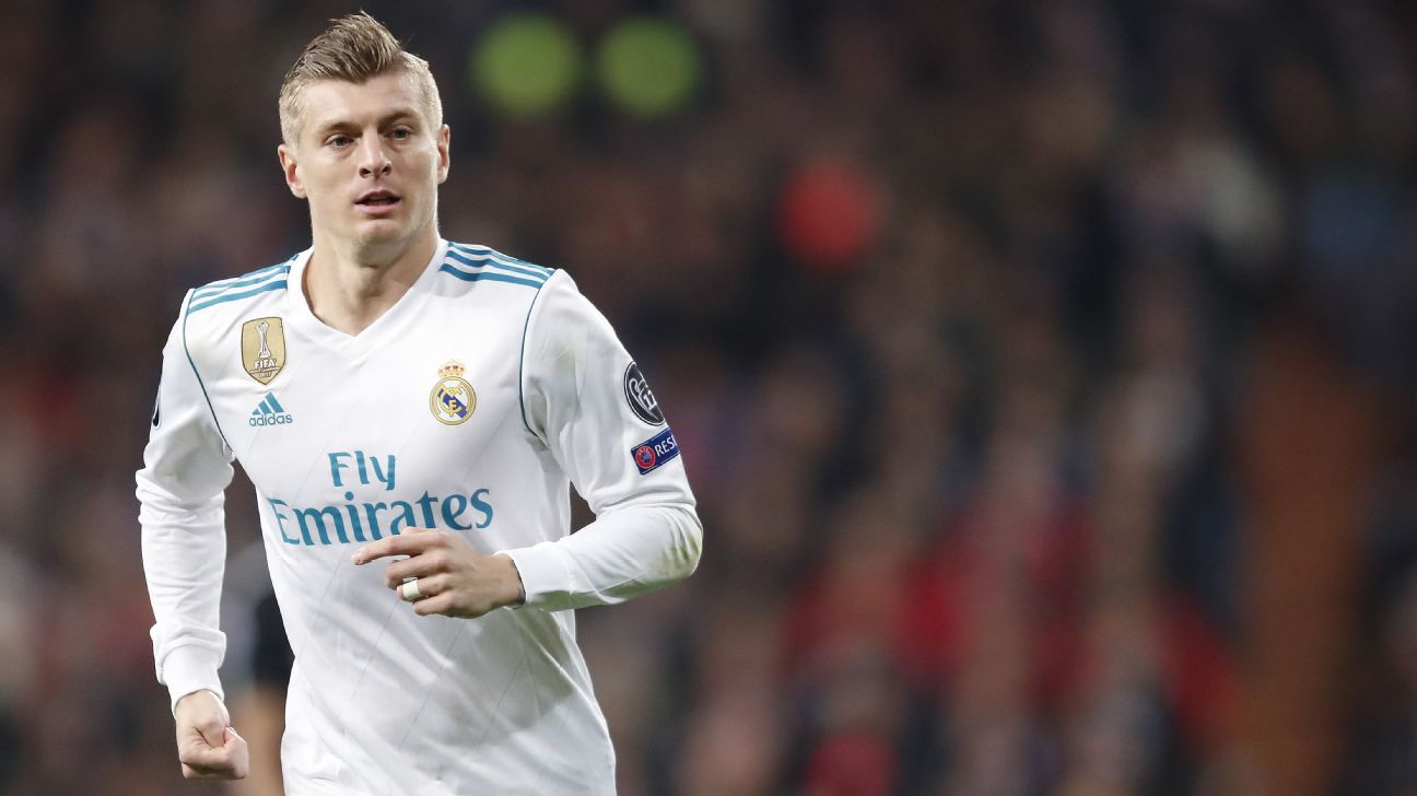 Toni Kroos is targeting a fourth Champions League win.