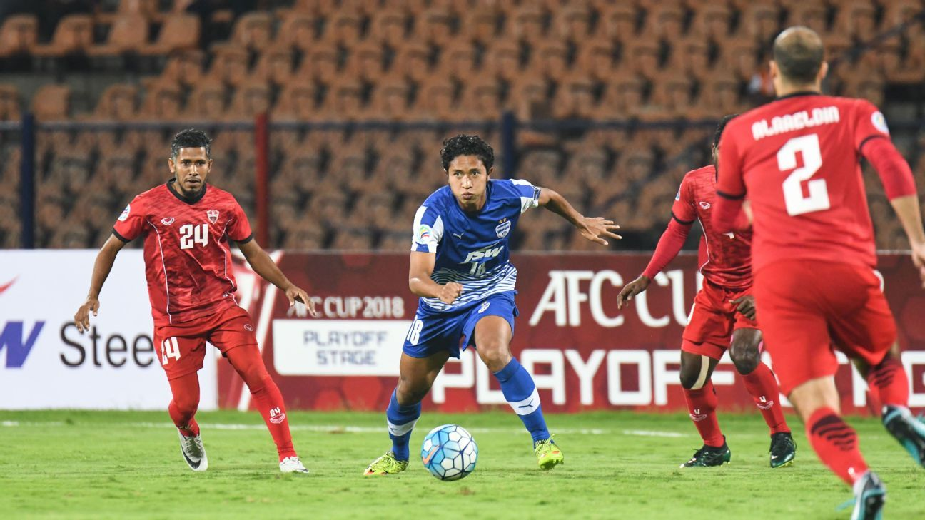 Antonio Dovale's hat-trick helped Bengaluru thrash TC Sports 5-0 in the second leg.