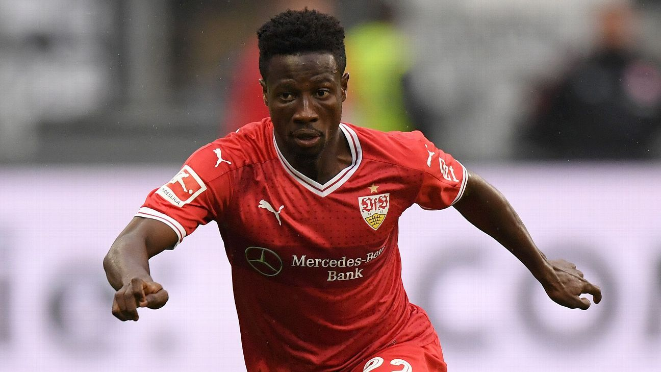New York City FC signs Ebenezer Ofori from Stuttgart on loan