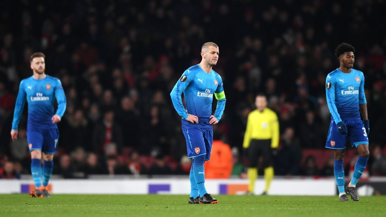 Arsenal barely avoided collapse in the second leg vs. Ostersunds.