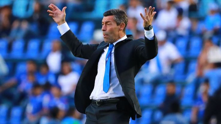 Pedro Caixinha has turned top-of-the-table Cruz Azul around this season.