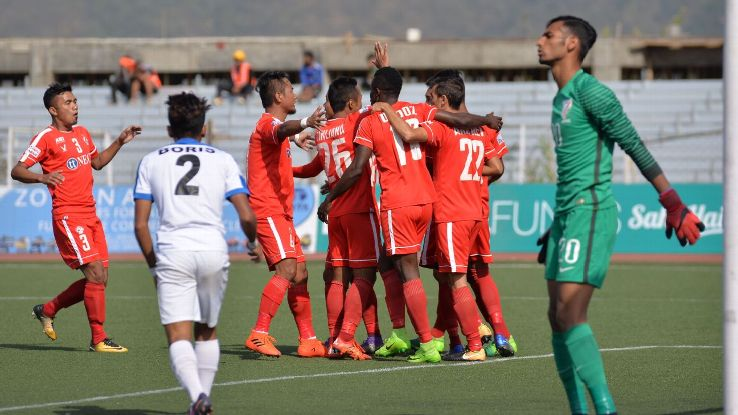 The 3-0 result against Aizawl was Arrows' biggest margin of defeat this season.