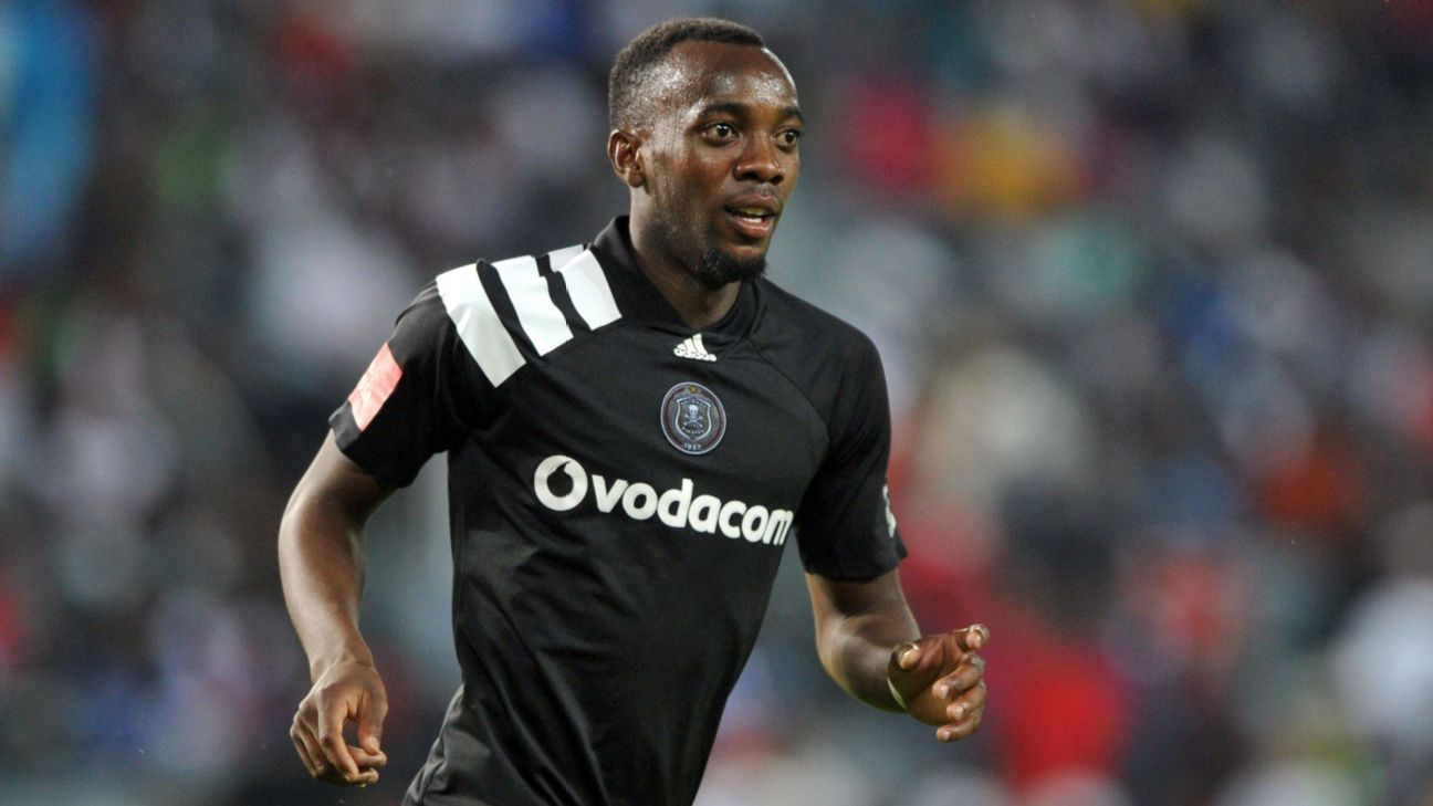 Justin Shonga of Orlando Pirates