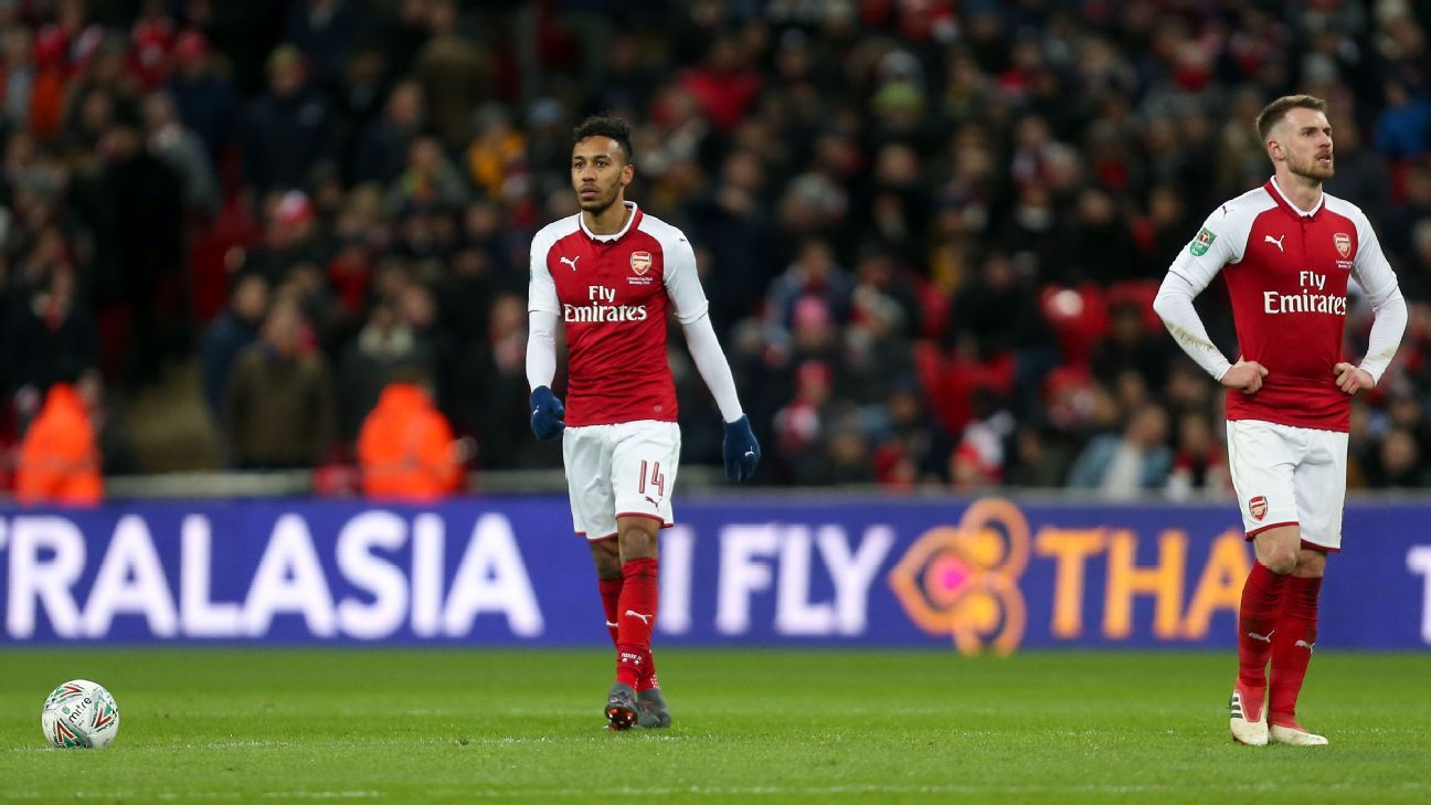 Arsenal duo Aaron Ramsey and Pierre-Emerick Aubameyang will miss Thursday's Europa League against Qarabag.