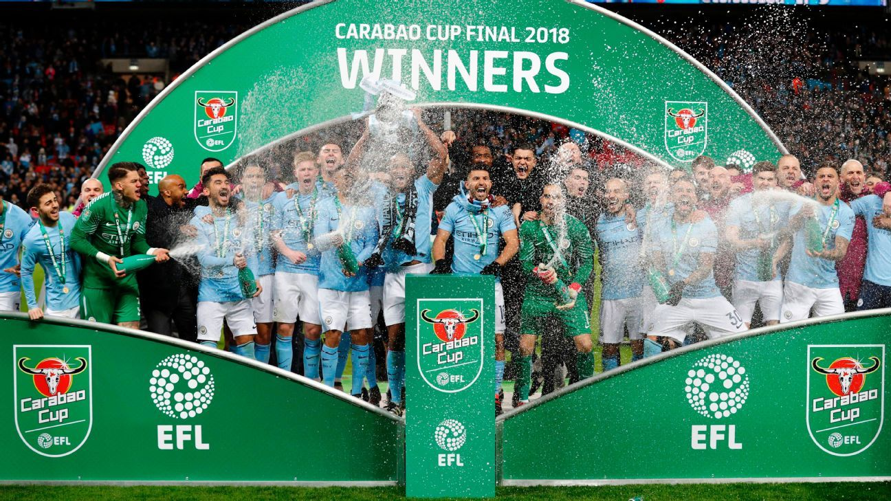 Manchester City won the 2017-18 Carabao Cup.
