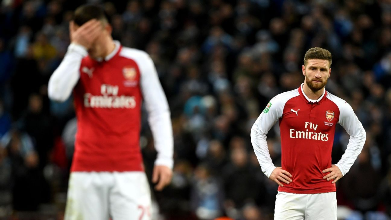 Shkodran Mustafi has struggled to justify his hefty price-tag at Arsenal.