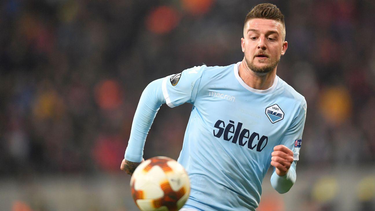 Lazio's Sergej Milinkovic-Savic