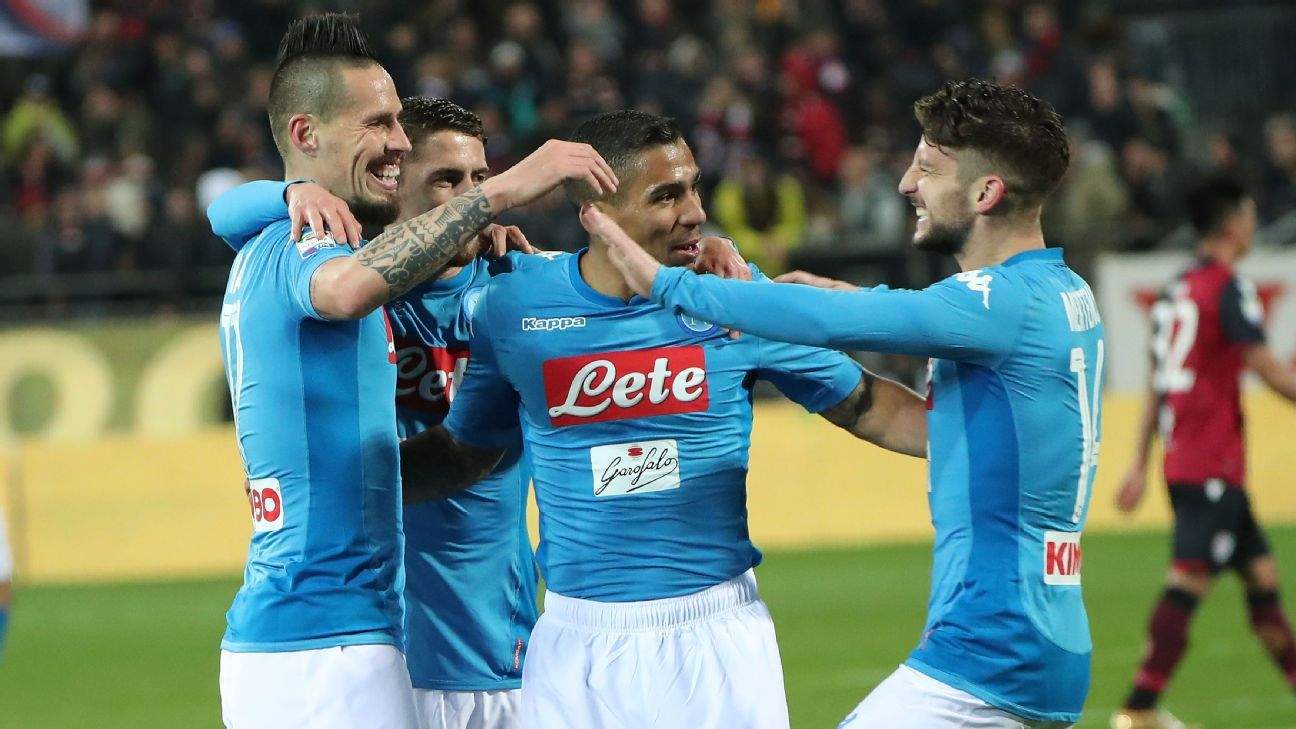 Napoli have been one of the most eye-catching sides in Europe this season.