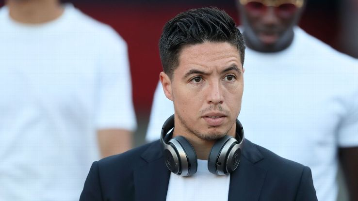 Samir Nasri has played for Arsenal, Manchester City and Sevilla during his career.