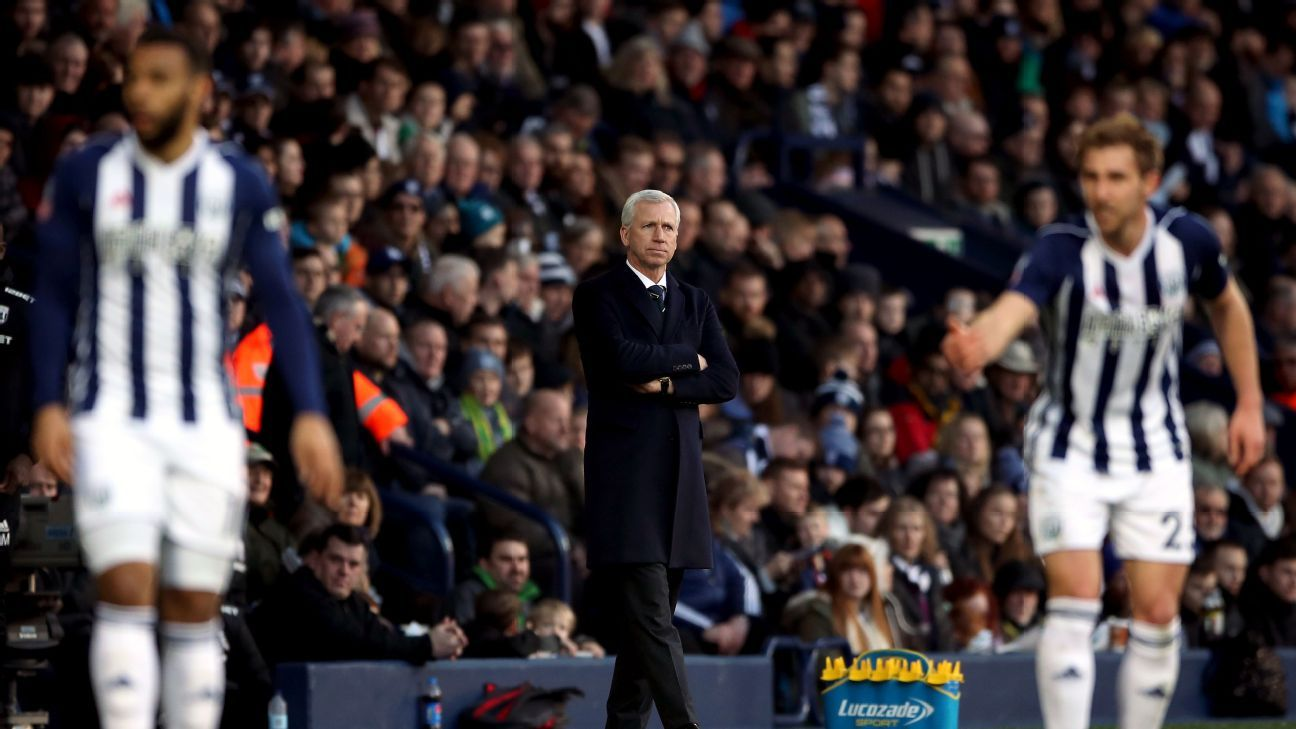 Alan Pardew's West Brom has one win in 26 games and added an off-field incident to their woes in February.