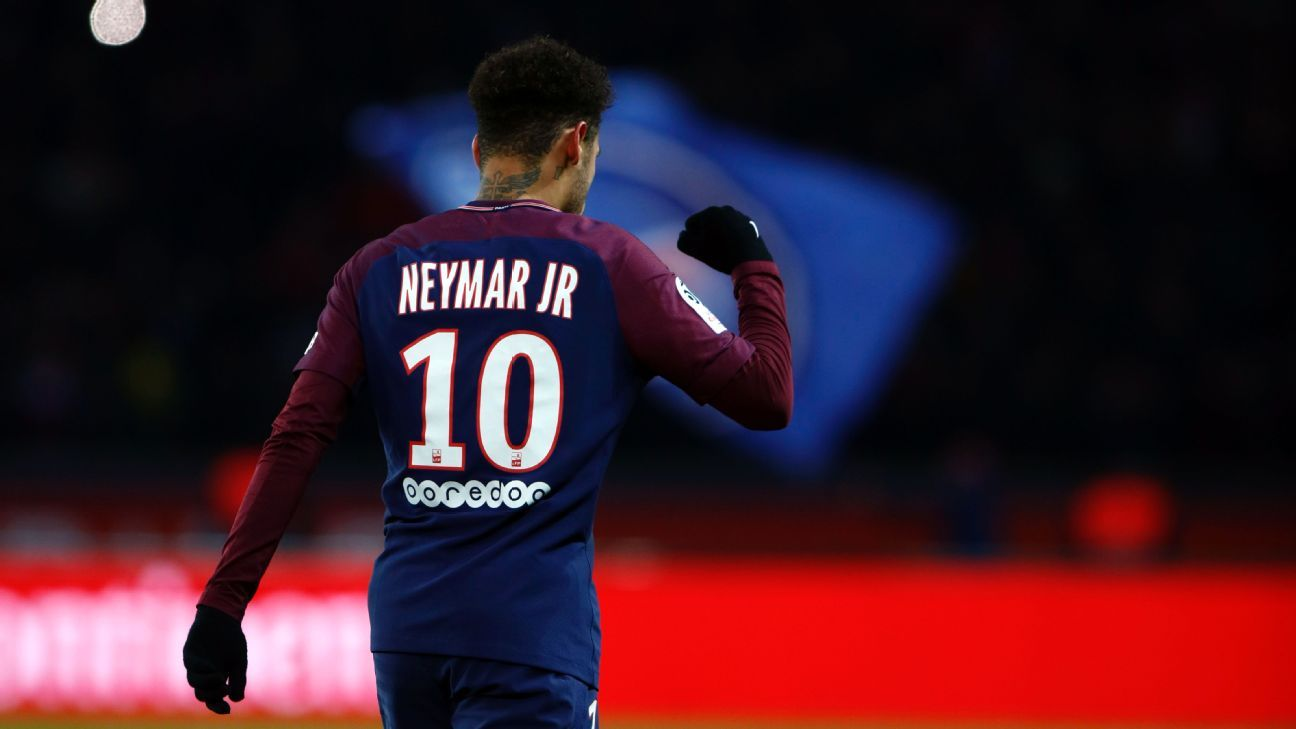 PSG's Neymar has ultrasound therapy as he steps up injury