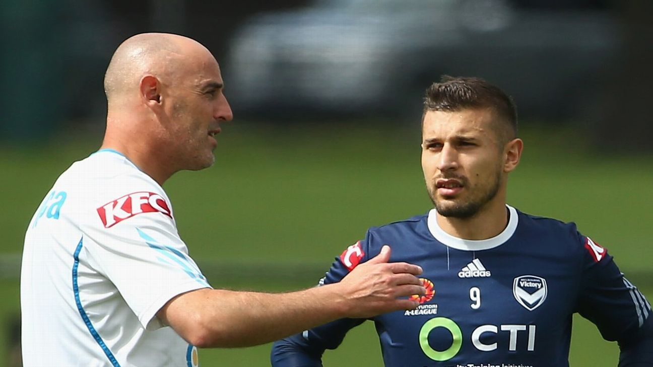 Kevin Muscat & Kosta Barbarouses