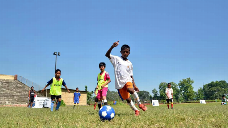 The Guwahati City Football Club's summer camp last year attracted 165 boys, including 15 in the under-13 category.