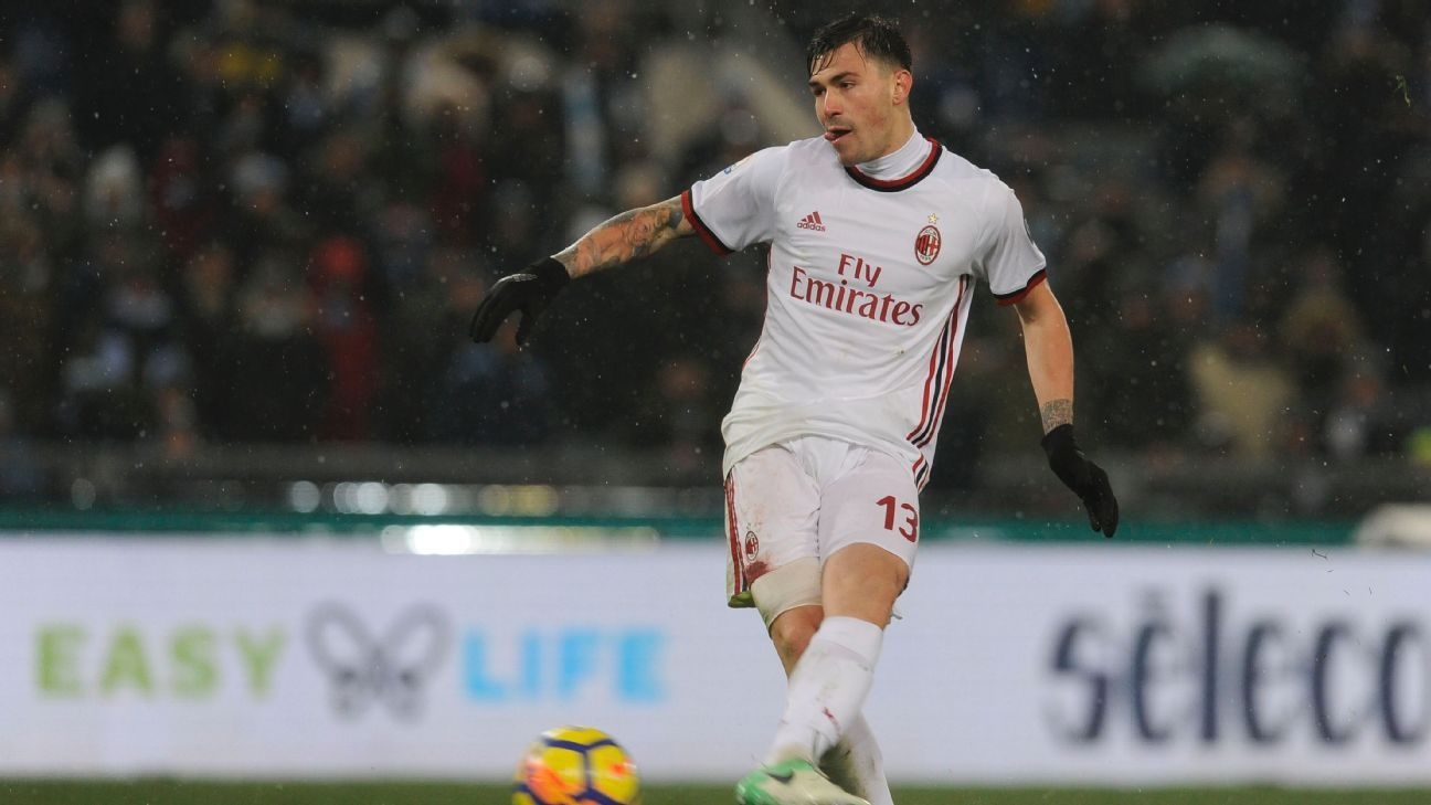 Alessio Romagnoli has shown huge promise for AC Milan.