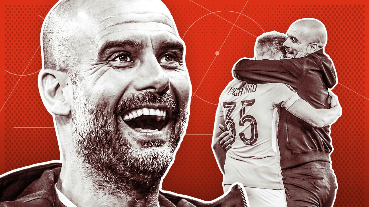 Pep Guardiola's challenge at Manchester City is to continue the record-breaking success he has delivered already.