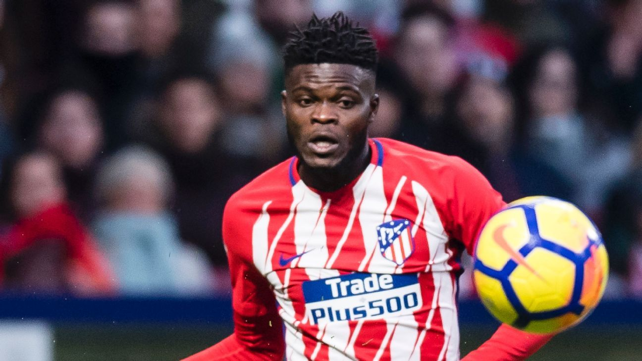 Atletico Madrid Thomas Partey signs contract extension
