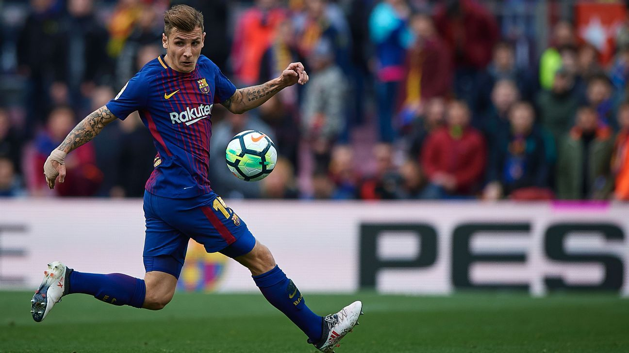 Lucas Digne didn't get much playing time at Barcelona but should be entering his prime for Everton.