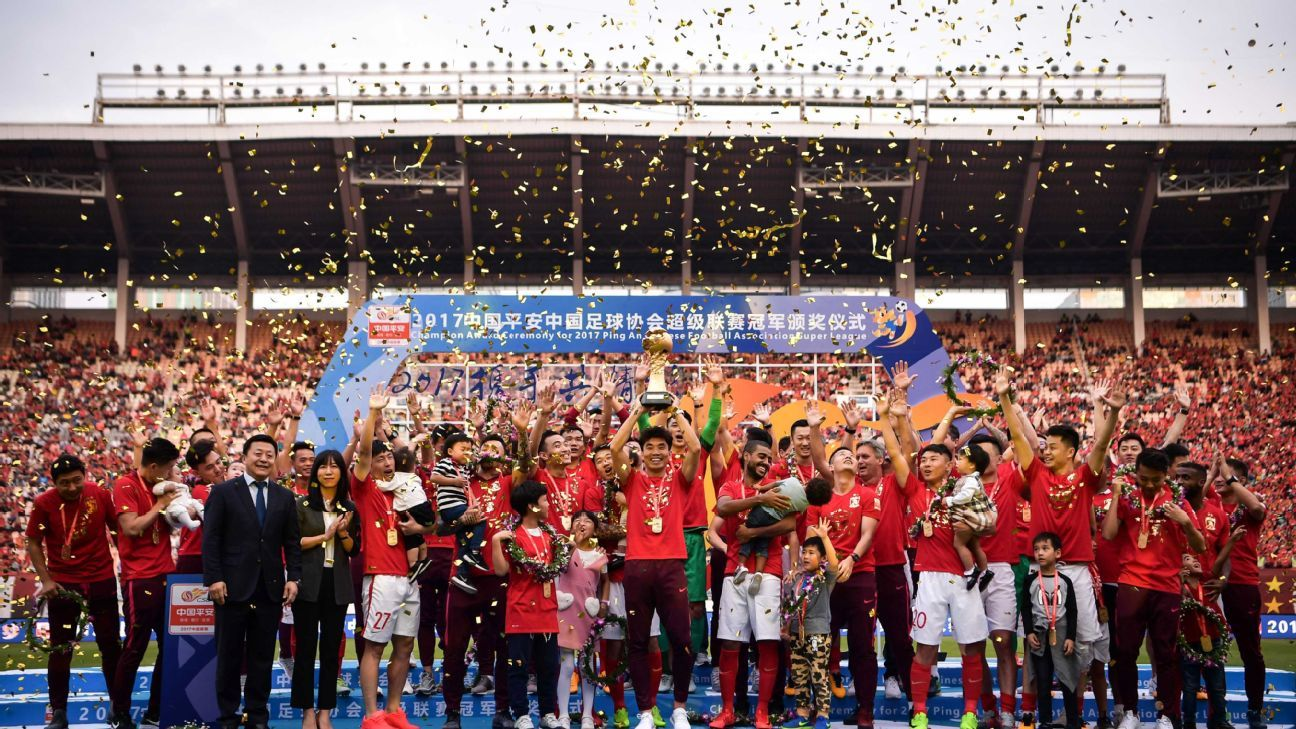 Guangzhou Evergrande seek an eighth straight CSL title.