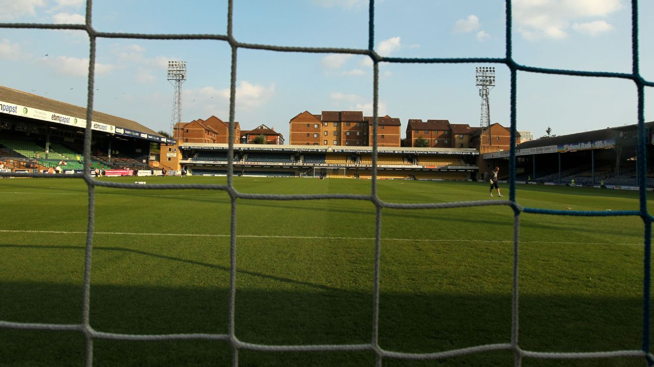 Southend United's Roots Hall general view