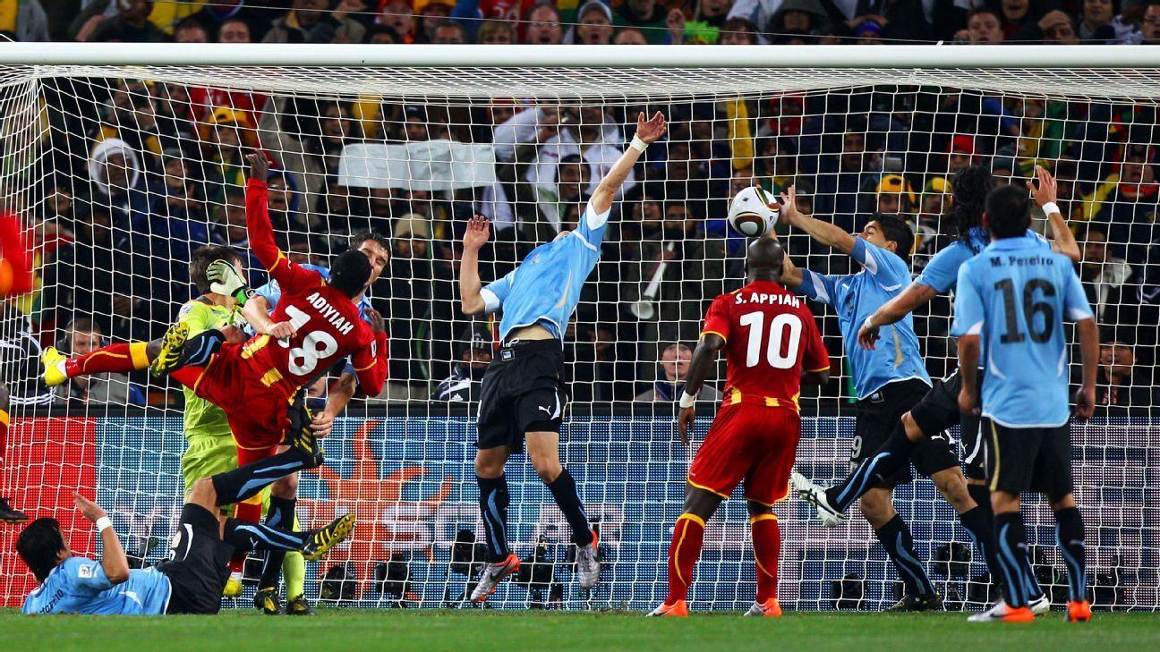 Luis Suarez vs. Ghana