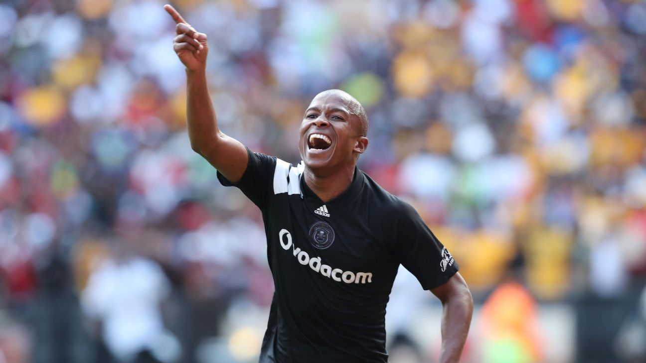 Luvuyo Memela of Orlando Pirates