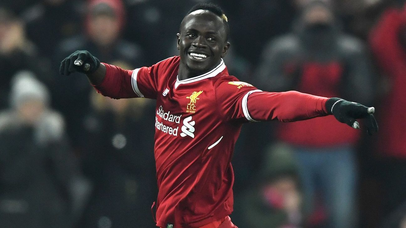 Sadio Mane joined Liverpool from Southampton in 2016.