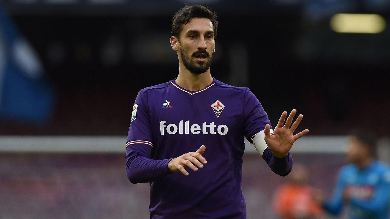 Astori, 31, set a fine example on and off the pitch for Fiorentina, Italy and more.