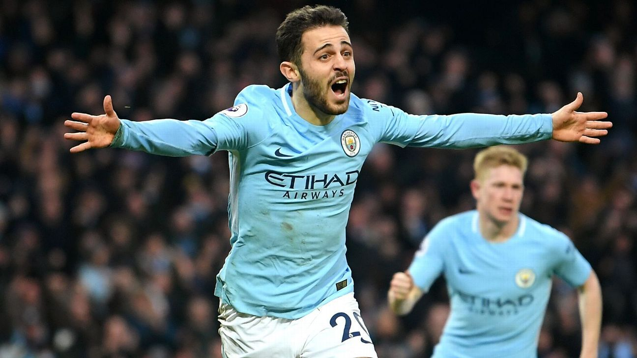 Bernardo Silva enjoyed a successful first season at Manchester City.