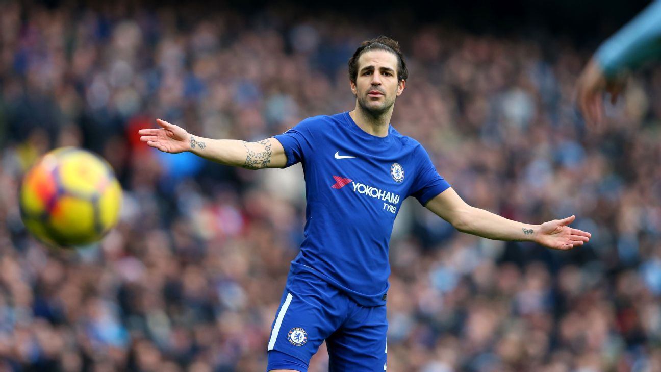 Cesc Fabregas was unusually sloppy against Man City.