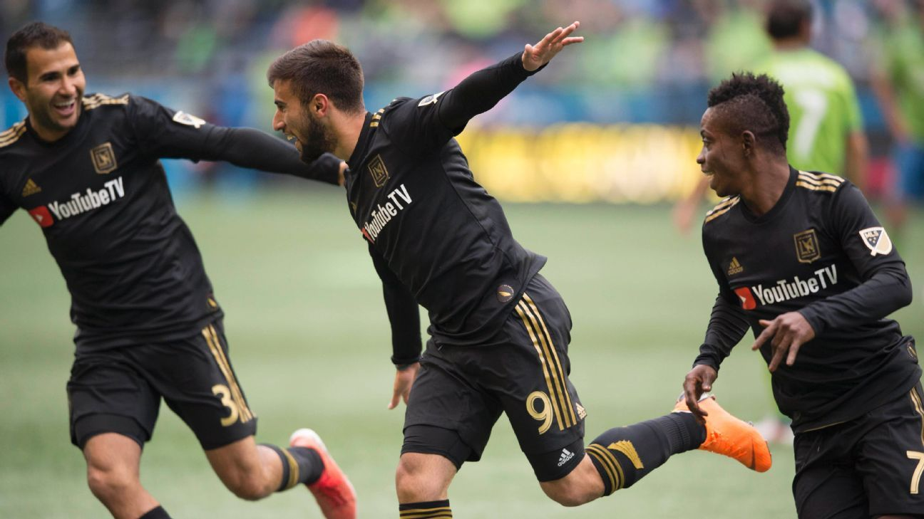 LAFC beats Seattle Sounders for first win in expansion club's history