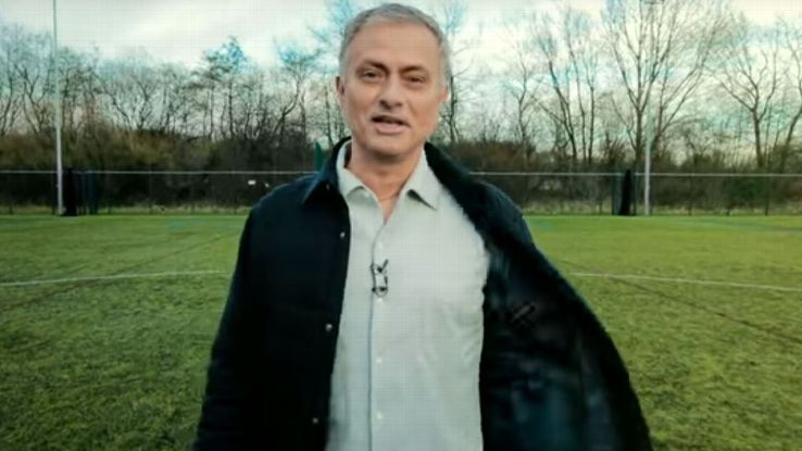 Jose Mourinho's role as a World Cup analyst for RT was announced with a promo ad