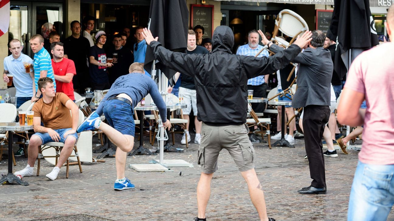 The violent scenes at Euro 2016, in Marseille, between England and Russia supporters continues to raise concerns about fan safety in Russia.