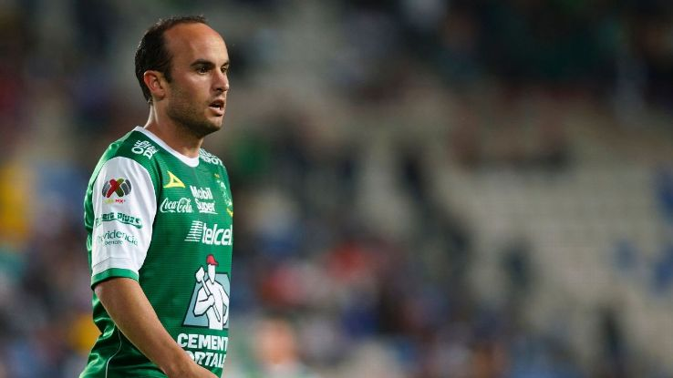 Landon Donovan played six games for Leon, in Liga MX, this past season.