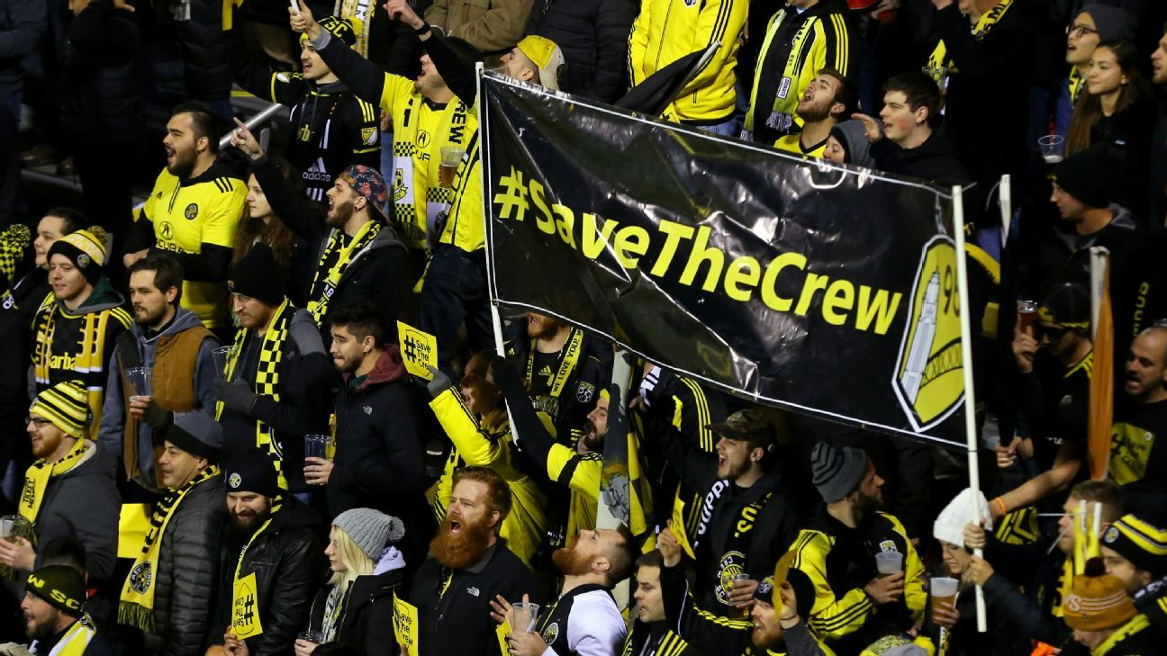 The Columbus Crew are one of the founding teams in MLS but face potential relocation to Austin, Texas.