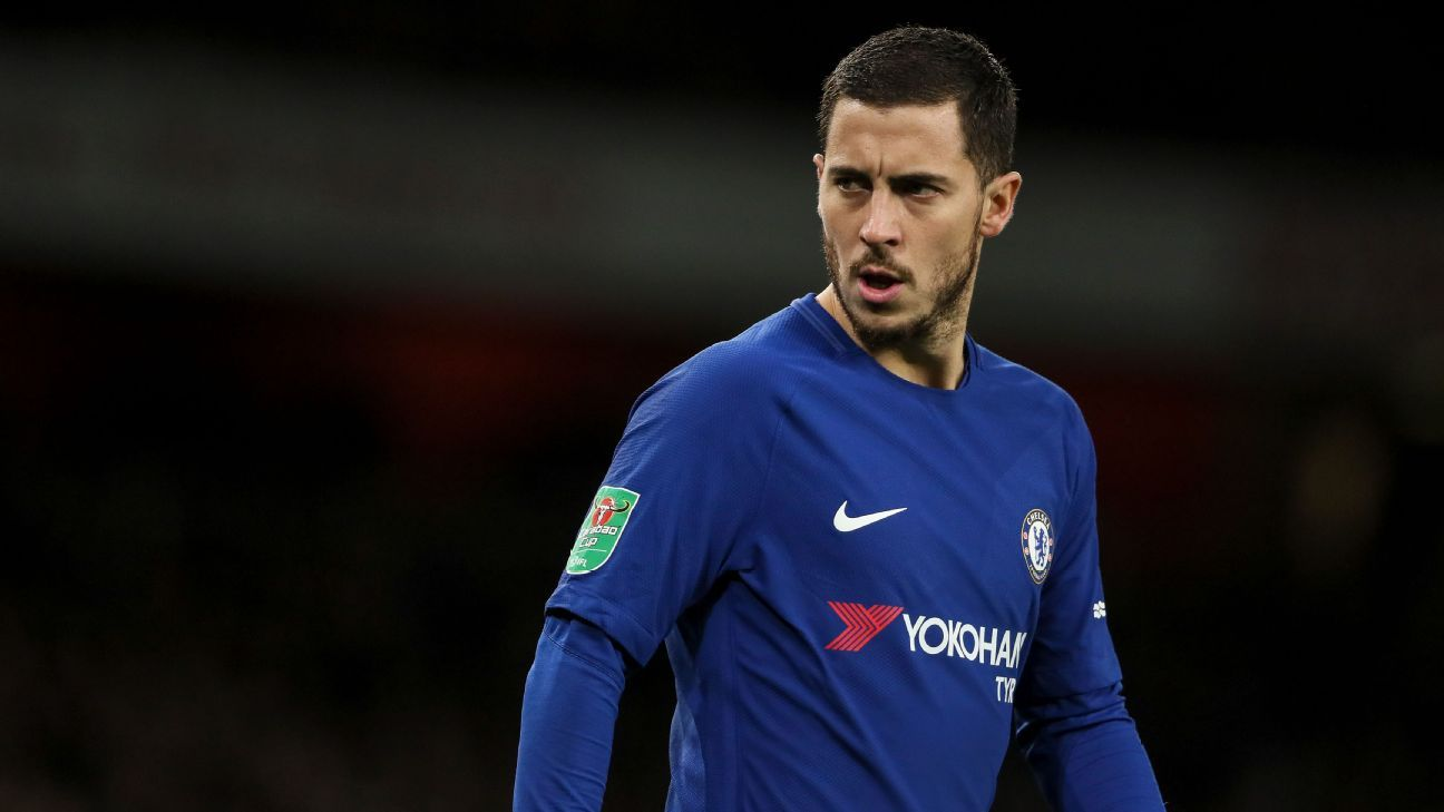 Eden Hazard wants reassurances that Chelsea will strengthen during the transfer window.