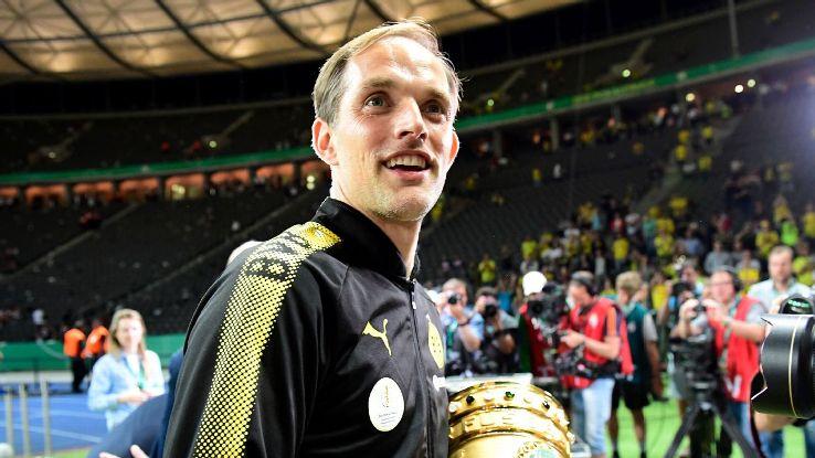Former Borussia Dortmund coach Thomas Tuchel